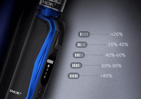 Kit Priv N19 Smok : batterie